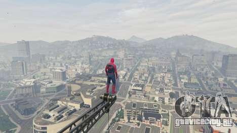 Человек-паук для GTA 5 шестой скриншот