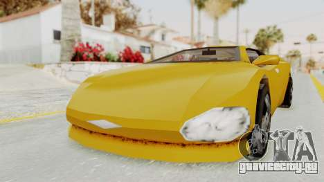 GTA 3 Infernus для GTA San Andreas вид справа