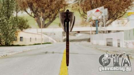 Skyrim Iron Mace для GTA San Andreas