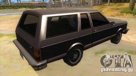 Regina Coupe для GTA San Andreas вид справа