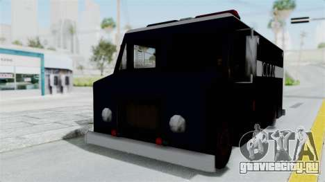 CCPD Boxville from Manhunt для GTA San Andreas