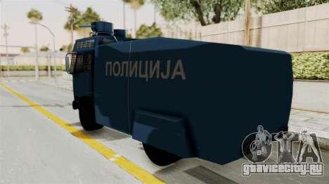 FAP Water Cannon для GTA San Andreas вид слева