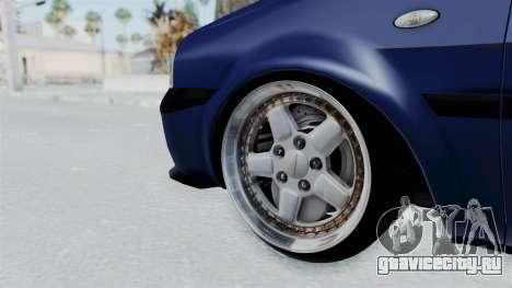Dacia Solenza для GTA San Andreas вид сзади слева