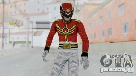 Power Rangers Megaforce - Red для GTA San Andreas