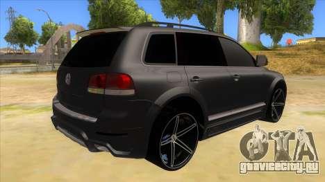 Volkswagen Touareg HQ для GTA San Andreas вид справа