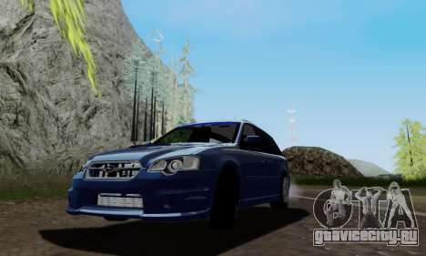 Subaru Legacy STi Wagon 2008 для GTA San Andreas