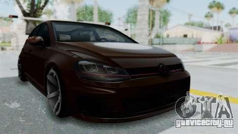 Volkswagen Golf 7 Stance для GTA San Andreas
