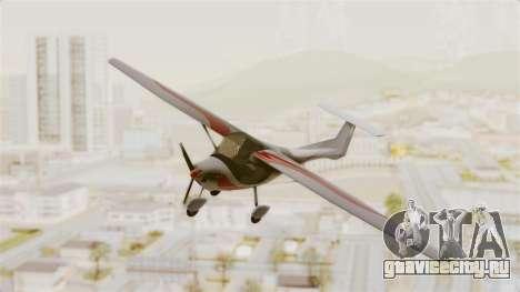 Ultralight Allegro 2000 для GTA San Andreas вид сзади слева