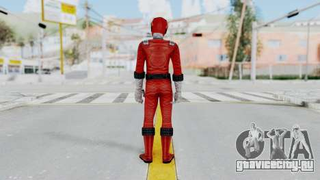 Power Rangers RPM - Red для GTA San Andreas третий скриншот