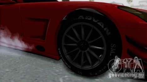 Mercedes-Benz SLS AMG GT3 PJ6 для GTA San Andreas вид сзади