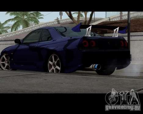 Nissan R33 GT-R Tunable для GTA San Andreas вид слева