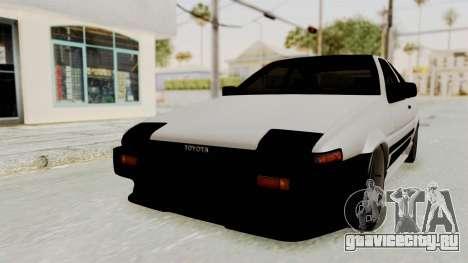 Toyota AE86 Sprinter Trueno для GTA San Andreas