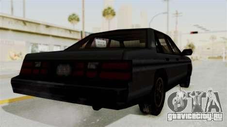 Cruiser from Manhunt 2 для GTA San Andreas вид справа