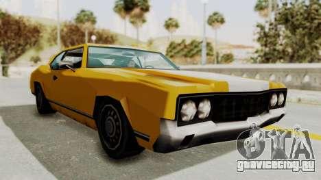 GTA VCS - Cholo Sabre для GTA San Andreas вид справа