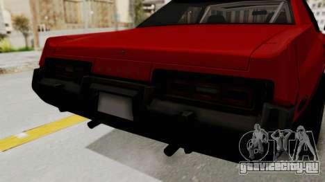 Dodge Monaco 1974 Drag для GTA San Andreas вид изнутри
