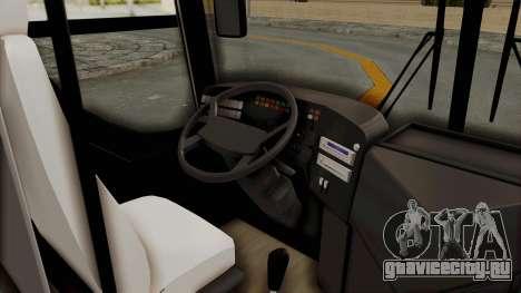 Superlines Ordinary Bus для GTA San Andreas вид сзади
