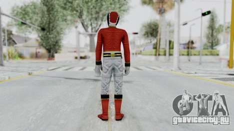 Power Rangers Megaforce - Red для GTA San Andreas третий скриншот