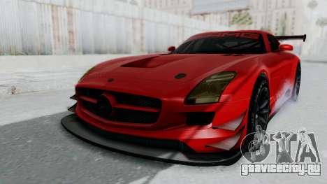 Mercedes-Benz SLS AMG GT3 PJ6 для GTA San Andreas