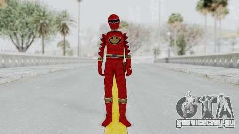 Power Rangers Dino Thunder - Red для GTA San Andreas второй скриншот
