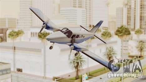 Piper Seneca II v2 для GTA San Andreas вид сзади слева