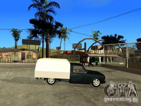 ВИС 2345 для GTA San Andreas вид сзади