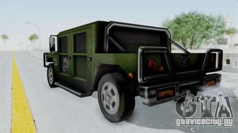 Patriot from Manhunt 2 для GTA San Andreas вид слева