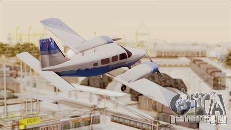 Piper Seneca II v2 для GTA San Andreas вид справа