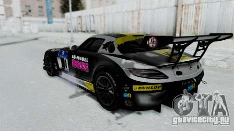 Mercedes-Benz SLS AMG GT3 PJ6 для GTA San Andreas колёса
