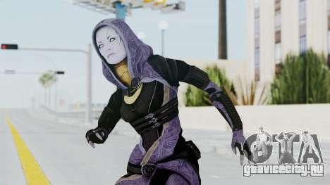 Mass Effect 3 Tali Zorah Unmasked для GTA San Andreas