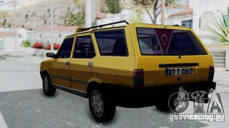 Tofas Kartal Taxi для GTA San Andreas вид слева