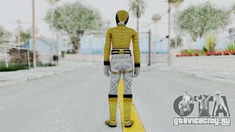 Power Rangers Megaforce - Yellow для GTA San Andreas третий скриншот