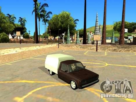 ВИС 2345 для GTA San Andreas вид изнутри