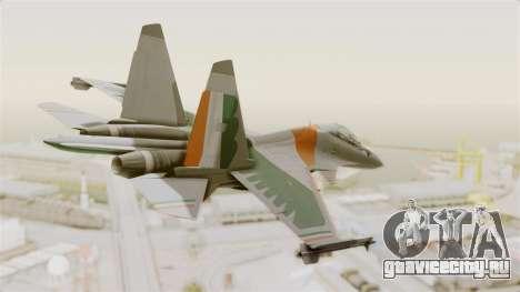 SU-30 MKI для GTA San Andreas вид слева
