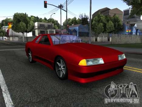 Elegy PFR v1.0 для GTA San Andreas двигатель