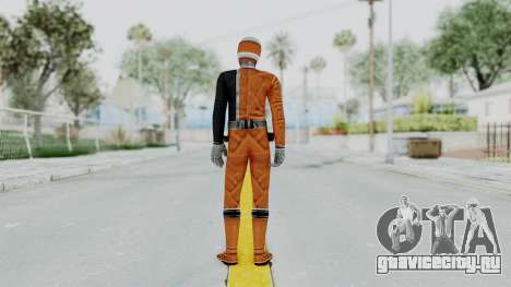 Power Rangers S.P.D - Orange для GTA San Andreas третий скриншот