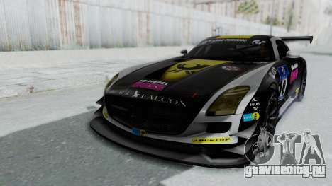 Mercedes-Benz SLS AMG GT3 PJ6 для GTA San Andreas двигатель