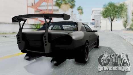 Elegy Rocket Bunny 1.0 для GTA San Andreas вид слева