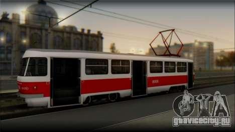 Tatra T3SU для GTA San Andreas вид слева