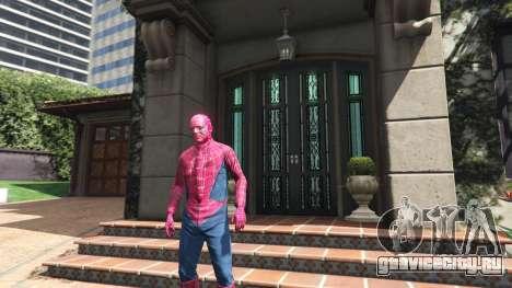 Человек-паук для GTA 5 второй скриншот