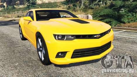 Chevrolet Camaro SS 2014 v1.1 для GTA 5