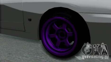 Nissan Skyline R32 Drift для GTA San Andreas вид сзади