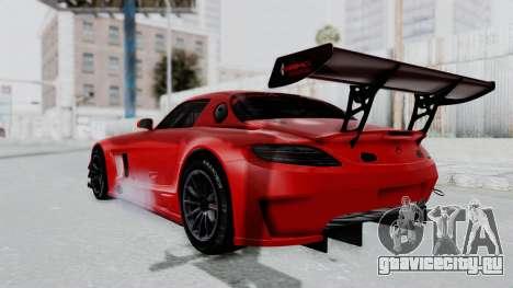 Mercedes-Benz SLS AMG GT3 PJ6 для GTA San Andreas вид слева