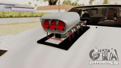 Nissan 240SX Monster Truck для GTA San Andreas вид сзади