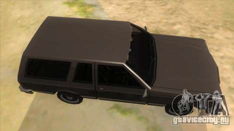 Regina Coupe для GTA San Andreas вид изнутри