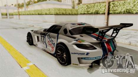 Mercedes-Benz SLS AMG GT3 PJ3 для GTA San Andreas салон