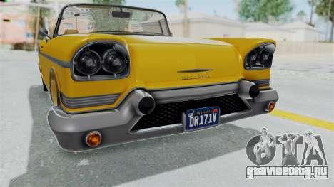 GTA 5 Declasse Tornado Bobbles and Plaques IVF для GTA San Andreas вид сбоку
