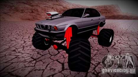 BMW M5 E34 Monster Truck для GTA San Andreas