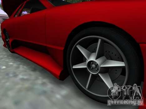 Elegy PFR v1.0 для GTA San Andreas вид справа