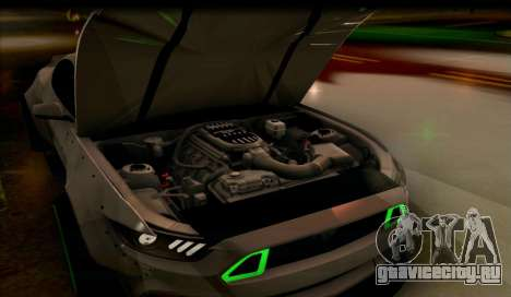 Ford Mustang RTRX Coupe для GTA San Andreas вид справа