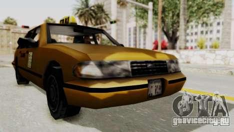 GTA 3 - Taxi для GTA San Andreas вид справа